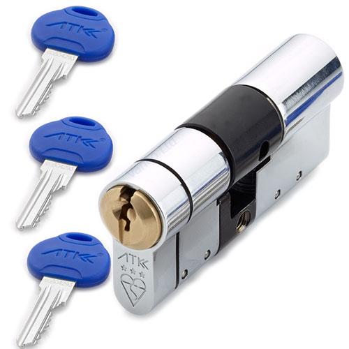 ATK By ABS Euro Cylinder Lock High Security 3 Star Kitemarked