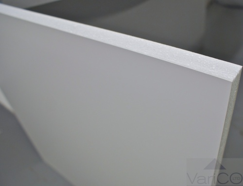 White UPVC Door Panel 750mm X 750mm
