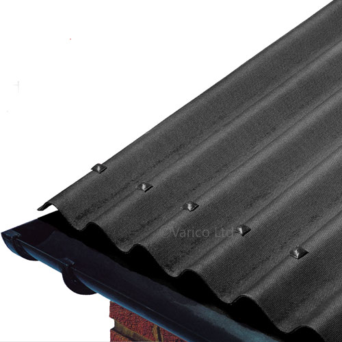 Onduline Corrugated Bitumen Roofing Sheet Black