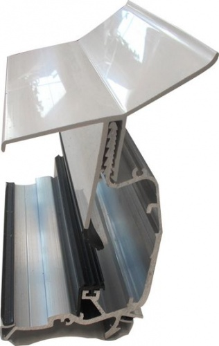 Wallplate To Suit Self Support Glazing Bar From Varico Ltd