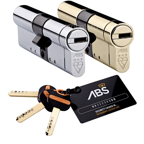 Avocet ABS Euro Cylinder Lock High Security 3 Star Kitemarked