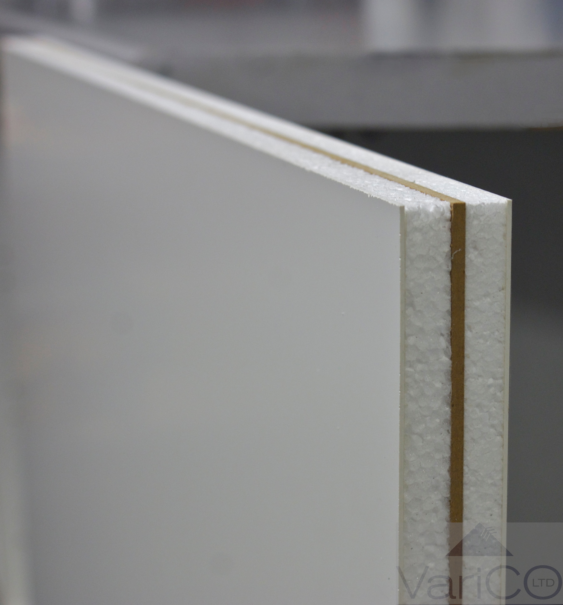 White Reinforced Upvc Door Panel
