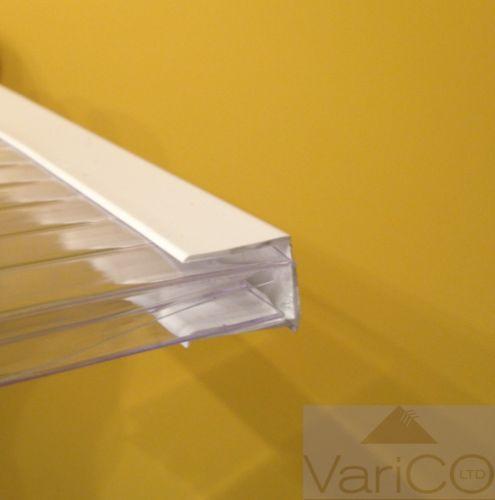 Upvc Polycarbonate End Closure White