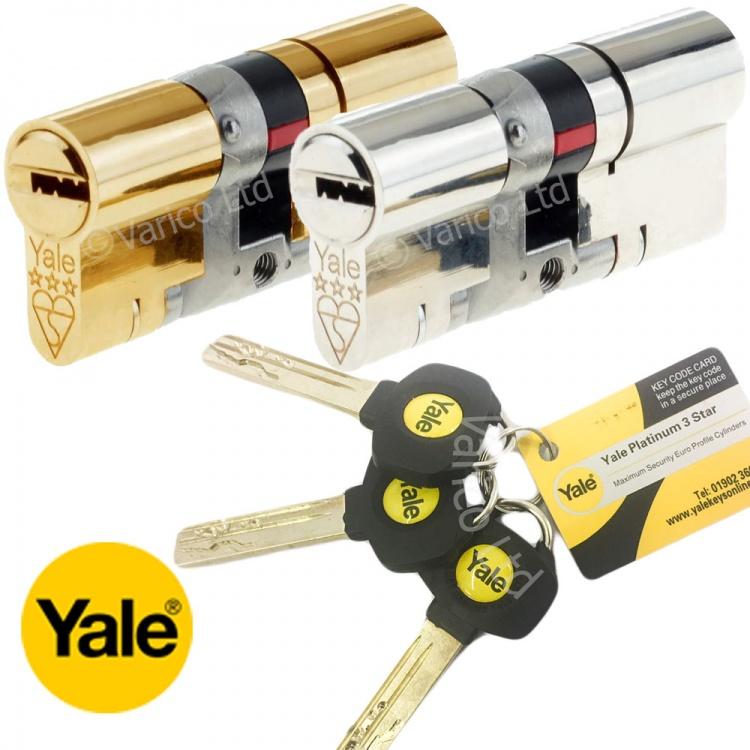 Yale Euro Cylinder Lock Varico