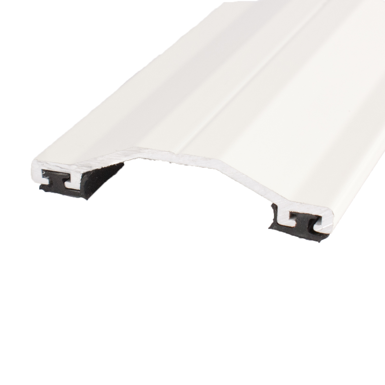 Aluminium Capped Screw Down Rafter Supported Glazing White