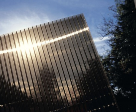 10mm Bronze Polycarbonate Sheet Twinwall