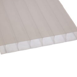 10mm Twinwall Polycarbonate Roofing Sheet Opal