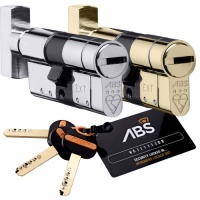 Avocet ABS Thumbturn Euro Cylinder Lock High Security 3 Star Kitemarked