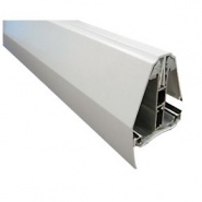 Self Support Edge Glazing Bars White