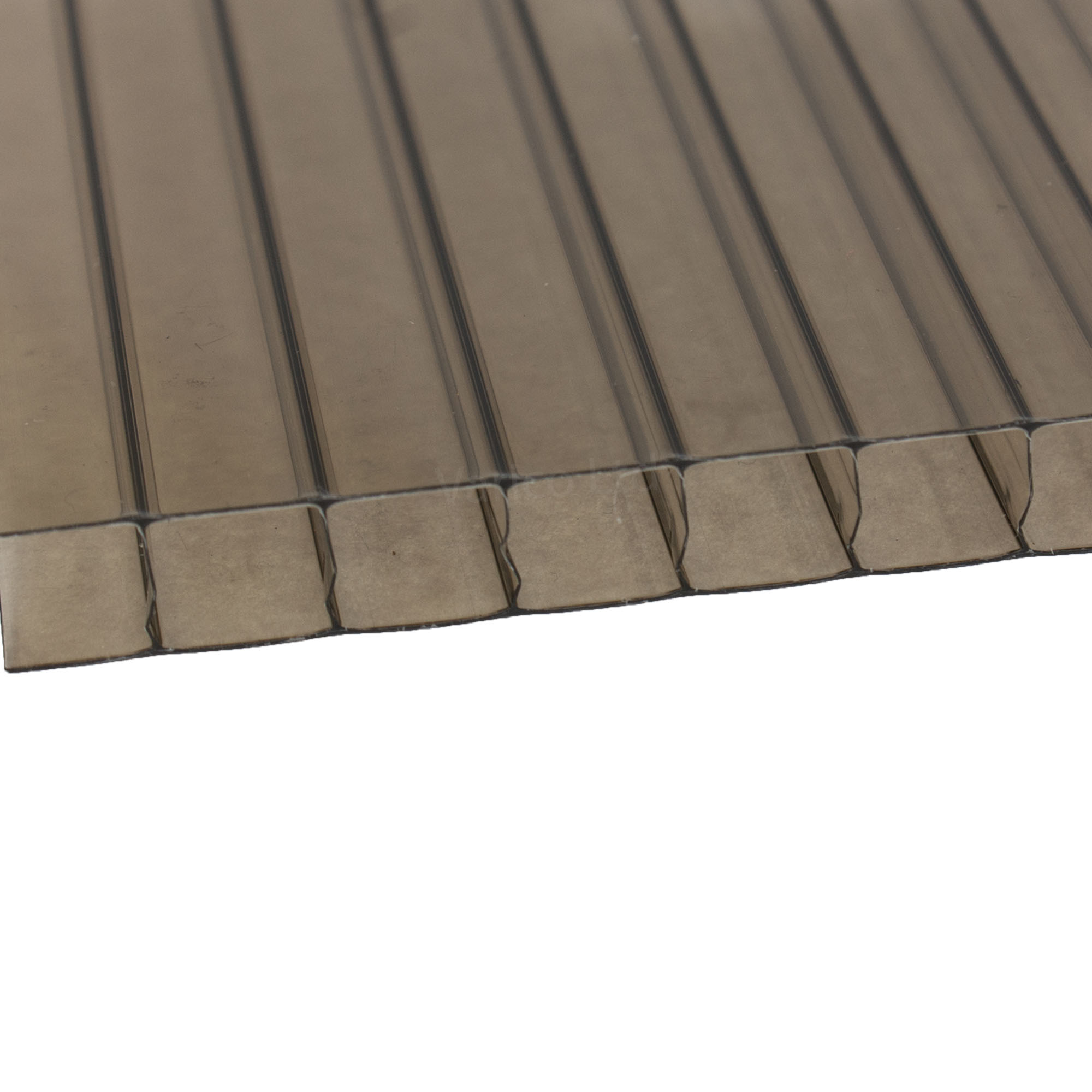 10mm Twinwall Polycarbonate Roofing Sheet Bronze