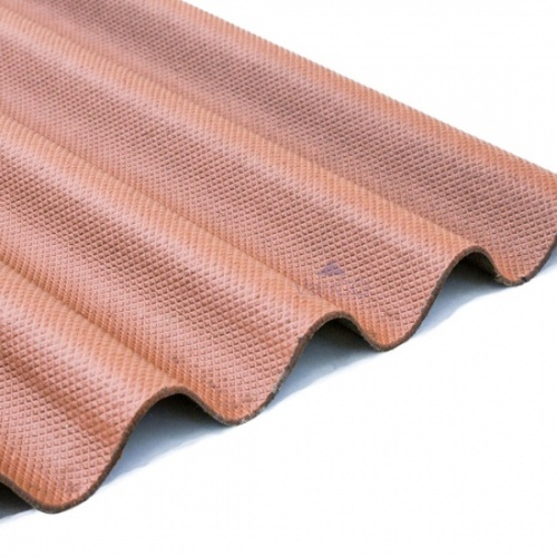 Brown Bitumen Corrugated Roofing Sheets 950m x 2000mm