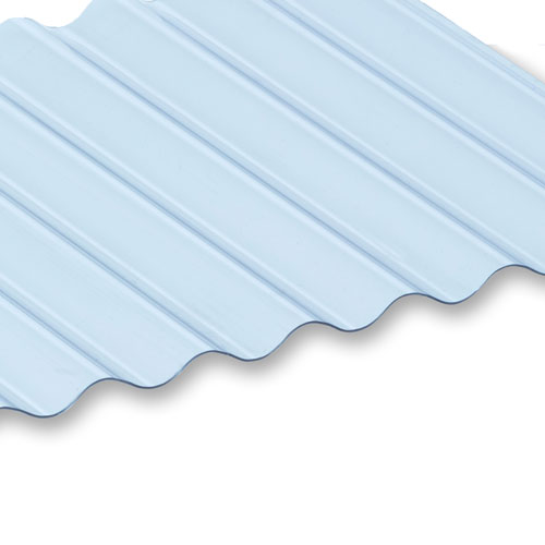 Miniature Profile Corrugated PVC Roofing Sheets