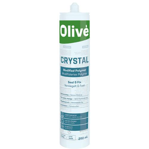 Oliv 233 Olibond Crystal Clear Hybrid Sealant Adhesive