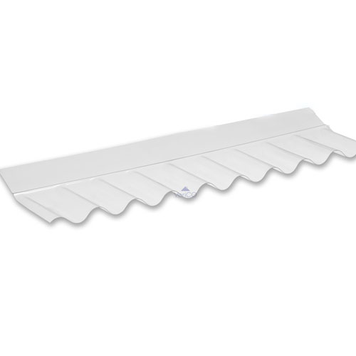 Wall Flashing For Use With 3'' ASB Corrugated PVC Sheet