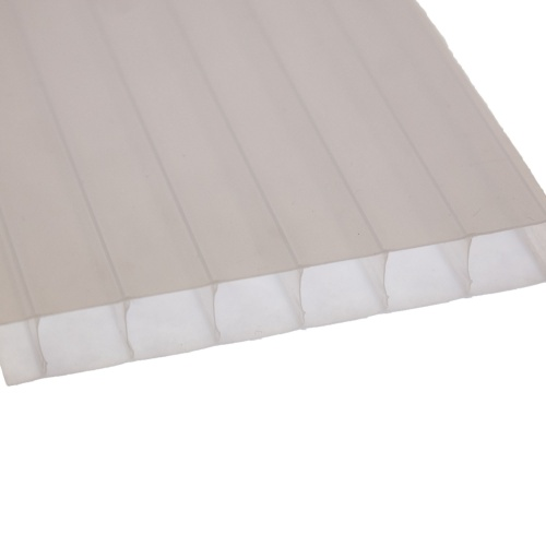 10mm Twinwall Polycarbonate Opal Sheet Varico Ltd