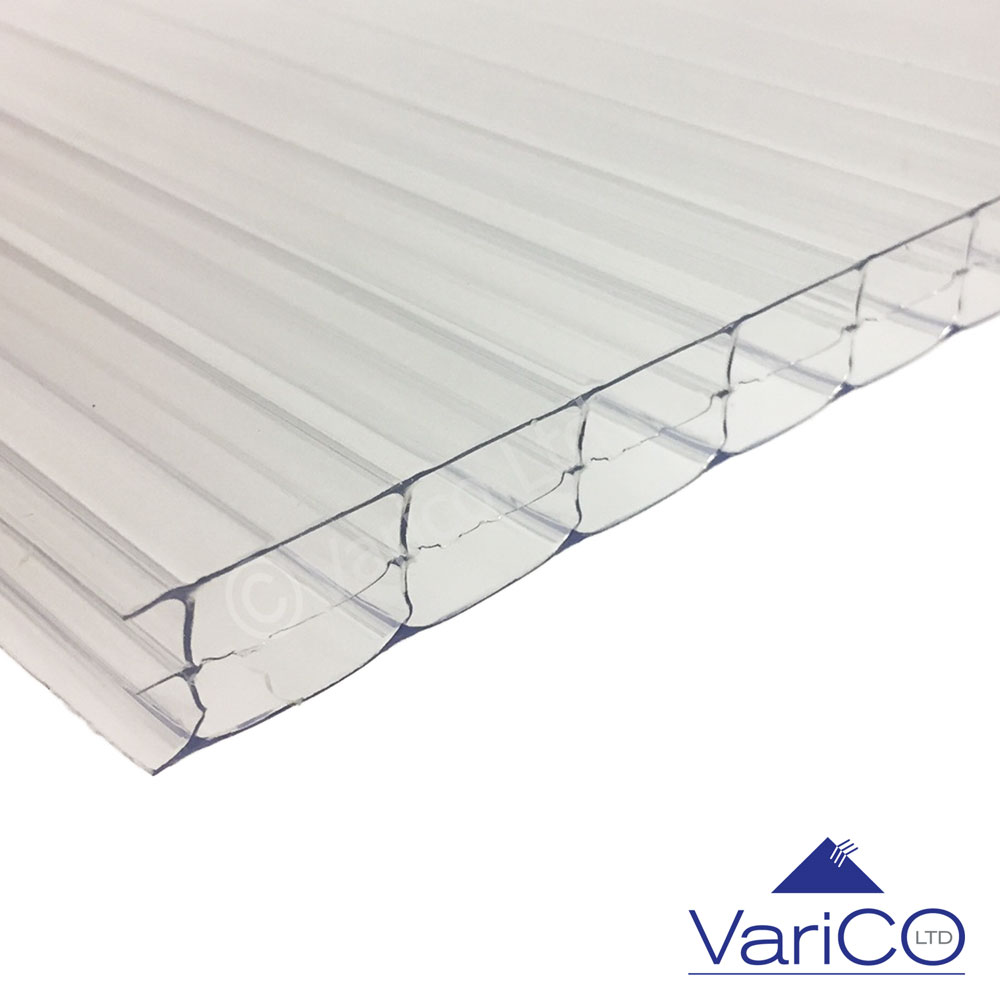 16mm Clear Polycarbonate Sheet