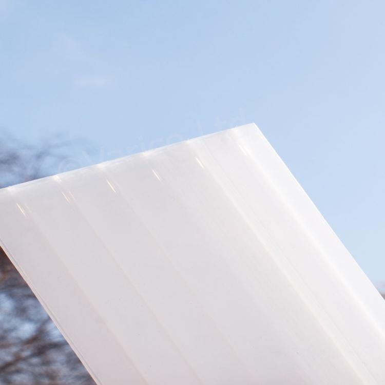 16mm Opal Triplewall Polycarbonate Roofing Sheet