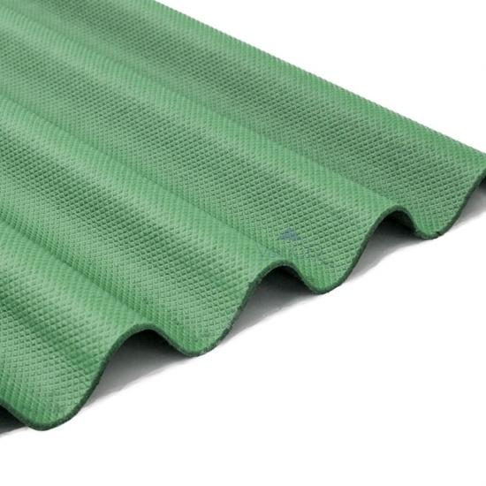 Green Corrugated Bitumen Roofing Sheets 950 X 2000mm Varico Ltd