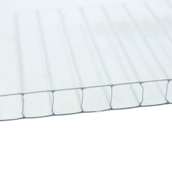 10mm Twinwall Polycarbonate Roofing Sheet Clear