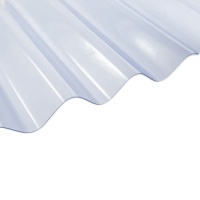 6'' Corrugated PVC Roofing Sheets (Big 6)