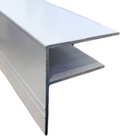 Aluminium F-Section For Polycarbonate Roofing Sheets