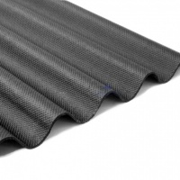 Corrugated Bitumen Sheet Black