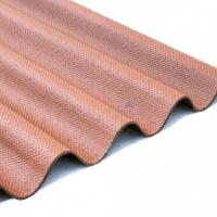 Corrugated Bitumen Sheet Brown