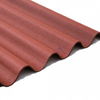 Corrugated Bitumen Sheet Red