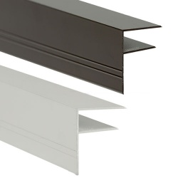 Easy Fit Aluminium F-Section For 16mm Clickloc Sheets