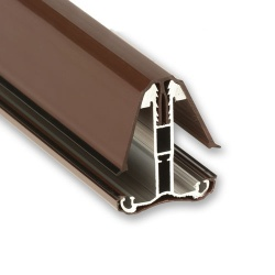 Self Support Intermediate Glazing Bars Brown