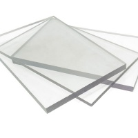 2mm Thick Solid Polycarbonate Sheet Clear